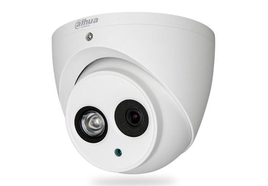 Picture of DAHUA 4MP HDCVI IR Turret Camera.