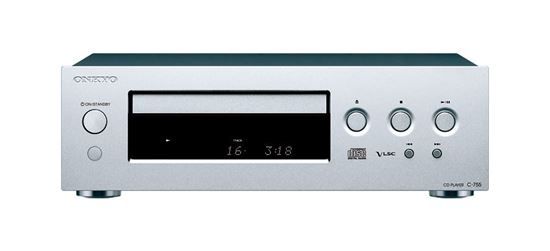 Picture of ONKYO CD Player. Flat anti-