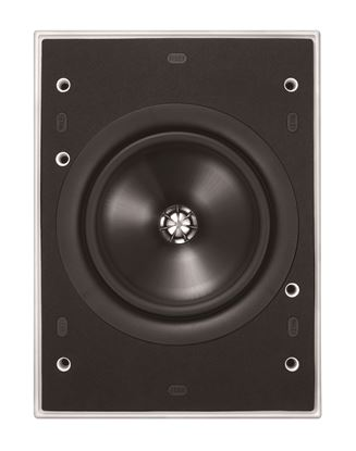 "Picture of KEF Ultra Thin Bezel 8"" Rectangular In-Wall Speaker."