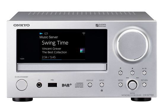 Picture of ONKYO Network CD Receiver.