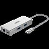 Picture of UNITEK USB3.0 USB-C Aluminium Multiport Hub with Power Delivery