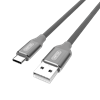 Picture of UNITEK 1m USB-A to USB-C Cable. Tangle free high quality nylon
