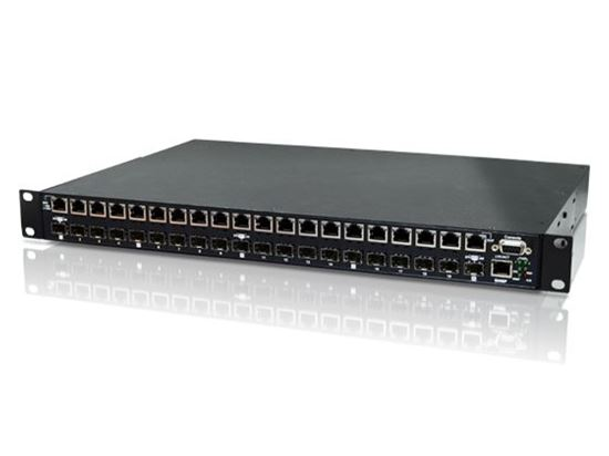 Picture of CTC UNION 20 Port Managed SFP Patching HUB. Converts