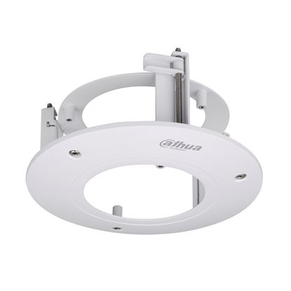 Picture of DAHUA In ceiling mount bracket for security cameras.