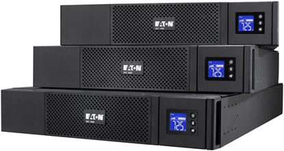 Picture of EATON 5SX 1250VA/230V Rack/Tower 2U UPS. Pure sinewave output. 2RU.