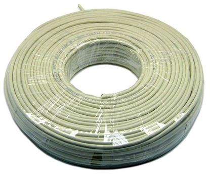 Picture of DYNAMIX 50m Cat5e Ivory UTP STRANDED Cable Roll 100MHz,