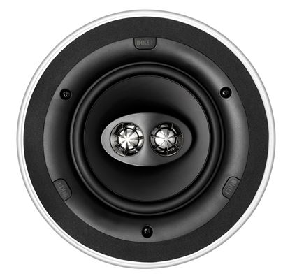 Picture of KEF Ultra Thin Bezel 6.5' Dual Stereo Round In-Ceiling Speaker.