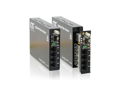 Picture of CTC UNION Multi Channel POTS Over Fibre Converter.