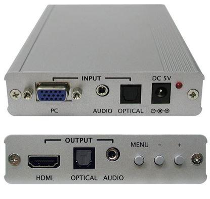 Picture of CYP VGA to HDMI 1080p Scaler Box HDMI, HDCP 1.1 & DVI 1.0 compliant.