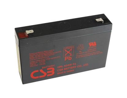 Picture of EATON 6V 34W Replacement Battery. Suites 5P Rackmounts.