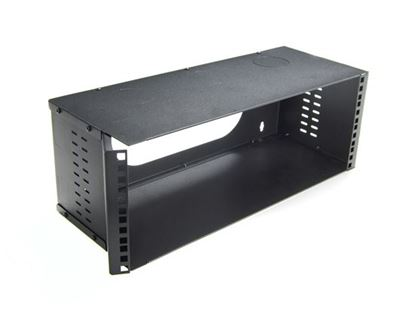 Picture of DYNAMIX 4U 200mm Deep 19' Fully Enclosed Hinged Wall Mount Bracket.