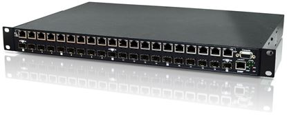 Picture of CTC UNION 20 Port Unmanaged SFP Patching HUB. Converts 100/1000Base