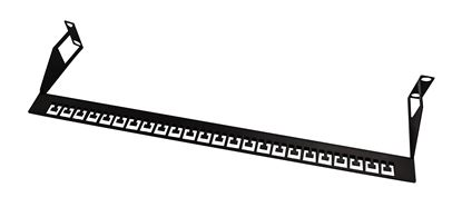 Picture of DYNAMIX 19' Rear Cable Management Support Bar. Accompanies any 19'