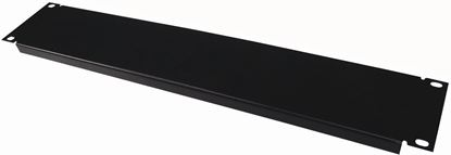 Picture of DYNAMIX 2RU 19' Blanking Panel. Black Colour.