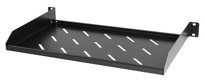 Picture of DYNAMIX 1RU 19' Cantilever Shelf. Overall Depth: 275mm, Shelf Depth:
