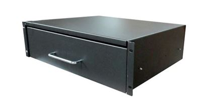 Picture of DYNAMIX 3U Rackmount Lockable Draw, 350mm Deep, 112mm High.