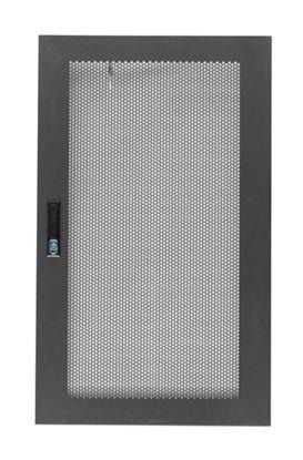 Picture of DYNAMIX Front Mesh Door for 22RU 600mm Wide Server Cabinet.