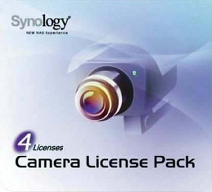 Picture of SYNOLOGY 4 Camera Licence Pack to install additional cameras.