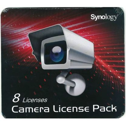 Picture of SYNOLOGY 8 Camera Licence Pack to install additional cameras.