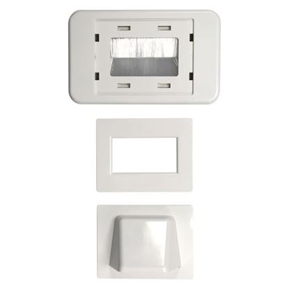 Picture of DYNAMIX Combination Flush & Bullnose Cable Management Wall