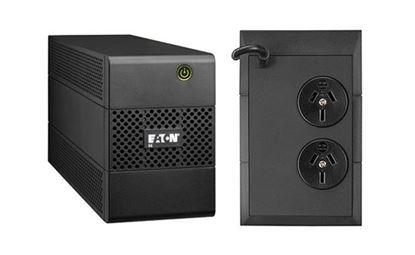 Picture of EATON 5E UPS 650VA/360W, 2x ANZ OUTLETS, no Fan