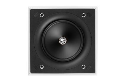 Picture of KEF Ultra Thin Bezel 6.5' Square In-Wall  Speaker. 160mm Uni-Q