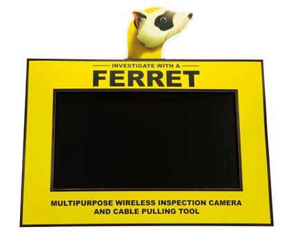Picture of CABLE FERRET Counter Video Display. Display comes Preinstalled with