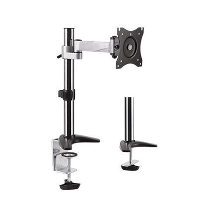 Picture of BRATECK 13'-27' Single Monitor Desk Mount Rotate, extend, tilt, swivel.