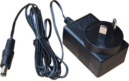 Picture of DYNAMIX 12V DC 1A CCTV Regulated Switch mode Power Adapter.