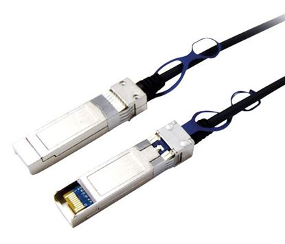 Picture of DYNAMIX 2m 10G Passive SFP+ cable. Cisco and generic compatible.