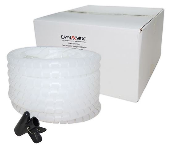 Picture of DYNAMIX 20mx25mm Easy Wrap - Cable Management Solution, Bulk Packed,