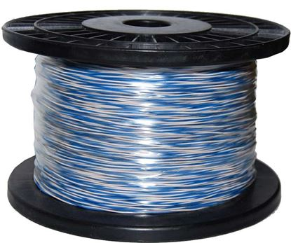 Picture of DYNAMIX 250m Blue & White Jumper Cable Roll, Copper: 0.5mm (non-