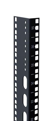Picture of DYNAMIX 42U L-shaped mounting rail for 600mm width cabinets.