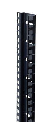 Picture of DYNAMIX 42RU S-Shaped Zinc Coated Mounting Rails for SR Series
