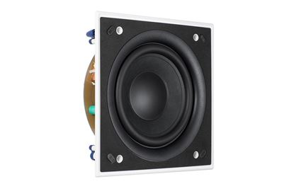 Picture of KEF Ultra Thin Bezel 8' Square In-Wall Subwoofer. THX ULTRA2 , and