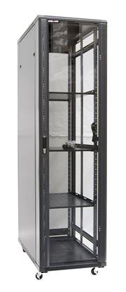Picture of DYNAMIX 45RU Server Cabinet 1200mm Deep (600x1200x2210mm) FLAT PACK.