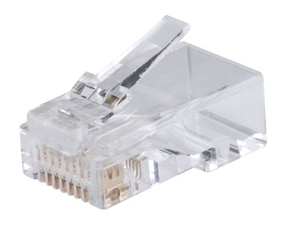 Picture of DYNAMIX Cat6/6A UTP RJ45 plug for Solid and Stranded Cable (100 piece