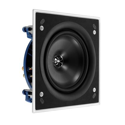 Picture of KEF Ultra Thin Bezel 8' Square In-Ceiling Speaker. 200mm Uni-Q
