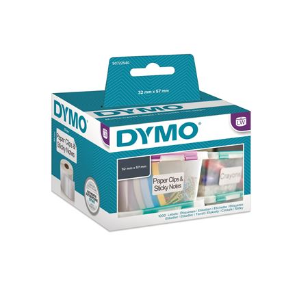 Picture of DYMO Genuine LabelWriter Multi Purpose Labels. 1 roll (1000