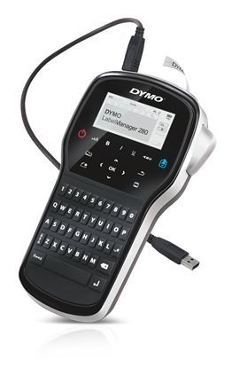 Picture of DYMO LabelManager 280P Portable Label Maker with QWERTY Keyboard.