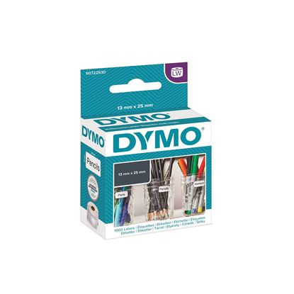 Picture of DYMO Genuine LabelWriter Multi Purpose 2 Up Labels  13mm x 25mm