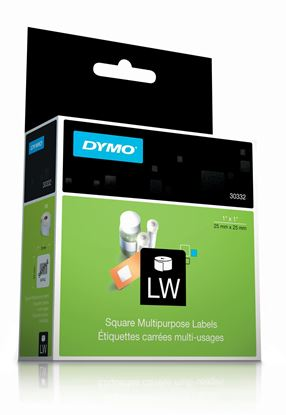 Picture of DYMO Genuine LabelWriter Multi Purpose labels,  25mm x 25mm,