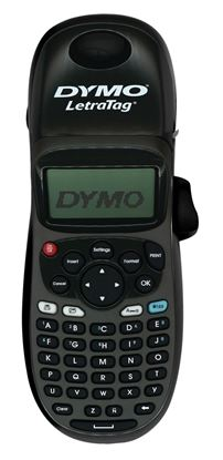 Picture of DYMO LetraTag 100H Handheld Maker, Black, with 13-character LCD