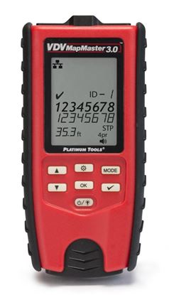 Picture of PLATINUM TOOLS VDV MapMaster 3.0 Cable Tester Kit. Kit Includes VDV