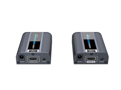 Picture of LENKENG HDMI2.0 Extender over Cat6 Includes a Transmitter & Reciever.