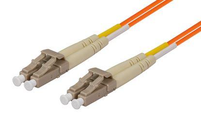 Picture of DYNAMIX 0.5M 62.5u LC/LC OM1 Fibre Lead (Duplex, Multimode)