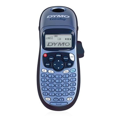 Picture of DYMO LetraTag 100H Handheld Label Maker, Blue, with 13-character LCD