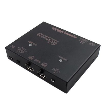 Picture of REXTRON 4K HDMI Audio Embedder / Audio Extractor (2 in 1).