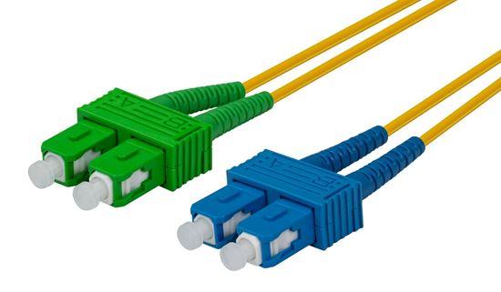 Picture of DYNAMIX 10M SCAPC/SC SIngle mode G657A1 Duplex Fibre Lead LSZH