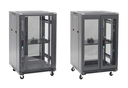 Picture of DYNAMIX 27RU Server Cabinet 800mm Deep (600 x 800 x 1410mm) Includes